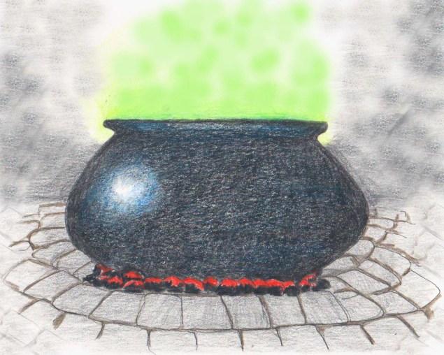 il calderone della strega